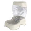 Petmate Bleached Linen Plastic Dog Bowl