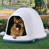 Aspen Pet 2.48-ft x 3.25-ft x 3.9-ft Plastic Dog House