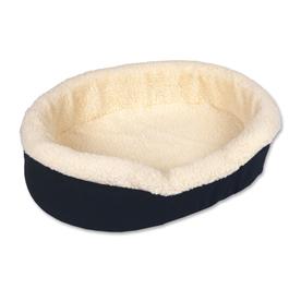 Doskocil Denim Fleece Oval Dog Bed