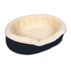 Doskocil Denim Fleece Oval Dog Bed