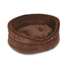 Doskocil Brown Terry Oval Dog Bed
