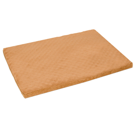 Doskocil Brown Cotton Poly Blend Rectangular Dog Bed