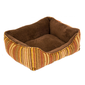 Doskocil Assorted Plush Oval Cat Bed