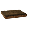 Doskocil Brown Plush Rectangular Dog Bed