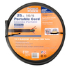 Coleman Cable 25-ft 10 AWG Black SJEOOW Power Cord