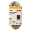Coleman Cable 25-ft 14 AWG Flat Speaker Wire