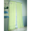 Style Selections 84-in L Citrine High Twist Voile Sheer Curtain