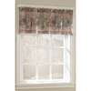 Style Selections&nbsp;17-in L Multicolor Fruitgrove Tailored Valance