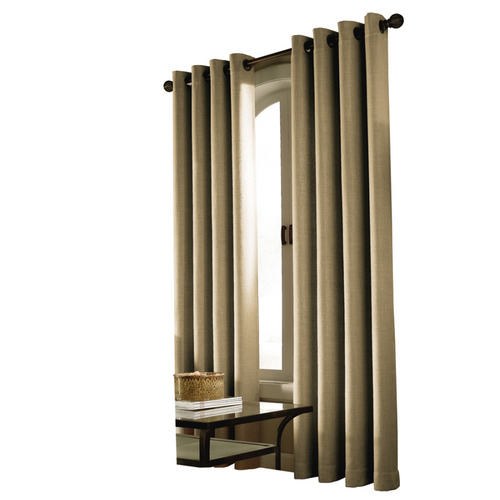 allen roth linen milton window panel drapes at lowes