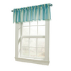 Style Selections 17-in L Blue Tori Tailored Valance