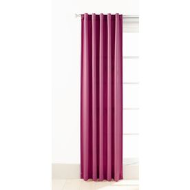 Style Selections Adrian 84-in L Kids Pink Back Tab Window Curtain Panel