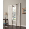 allen + roth Romanby 84-in L Room Darkening Solid Ivory Thermal Grommet Window Curtain Panel