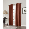 allen + roth 63-in L Blackout Geometric Brick Thermal Grommet Window Curtain Panel