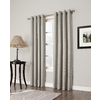 allen + roth 63-in L Blackout Geometric Sand Thermal Grommet Window Curtain Panel