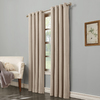 allen + roth Hesket Polyester Grommet Light Filtering Single Curtain Panel