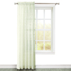 Style Selections Velez 84-in Polyester Rod Pocket Light Filtering Single Curtain Panel