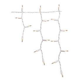 Holiday Living 300-Count Smooth Clear Christmas Icicle String Lights
