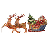 Holiday Living Pre-Lit PVC Freestanding Sculpture with Twinkling White Incandescent Lights