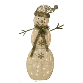 Holiday Living 3.57-ft Lighted Outdoor Christmas Decoration with Clear Lights