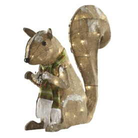 Shop Holiday Living 17 ft Lighted Squirrel Outdoor
