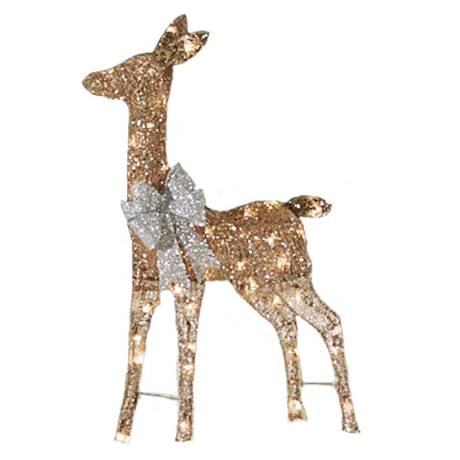 Christmas Lighted Deer Outdoor