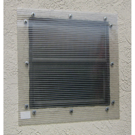 Storm-Busters 48-in x 96-in Clear Polycarbonate Hurricane Shutters