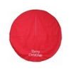 "Holiday Living 48"" Red Christmas Tree Skirt"