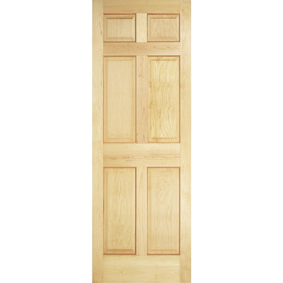 Shop Reliabilt 6 Panel Solid Core No Skin Non Bored Interior Slab Door Common 32 In X 78 In