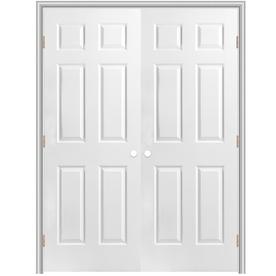 Hollow Core Interior Doors on Hollow Core Reversible Hand Composite Interior Double Prehung Door 366