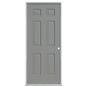 Lowes Doors Exterior on Lowes Prosteel Metal Exterior Left   Right Hand Out Swing Front Door