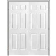 White master bedroom door at home depot lowes interior - Lowes prehung interior french doors ...