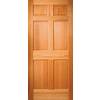 ReliaBilt 36-in x 80-in Hem-Fir Wood Entry Door