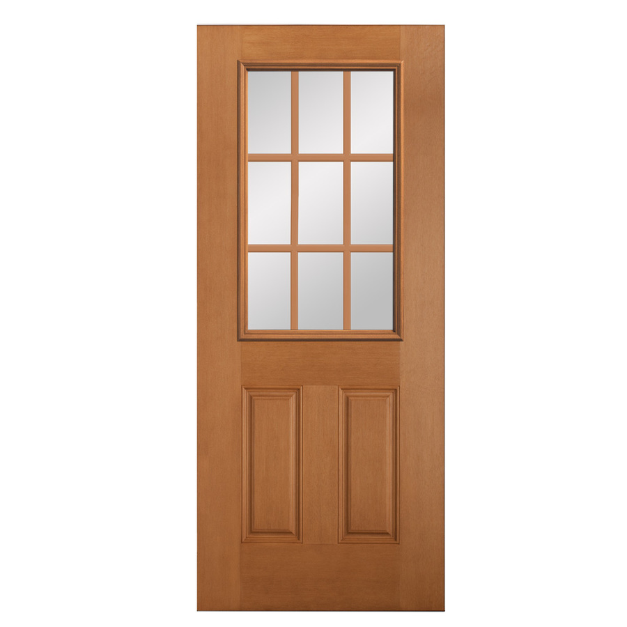 Shop reliabilt douglas fir wood door common 80 in x 36 for Wooden doors for outside