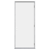 ProSteel 36-in x 80-in Flush Prehung Outswing Steel Entry Door