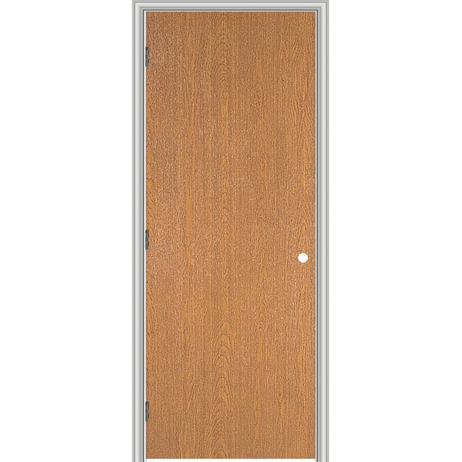 Shop reliabilt flush hollow core no skin lauan right hand interior single prehung door common - Hollow core interior doors lowes ...