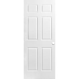 ReliaBilt Hollow Core 6-Panel Slab Interior Door (Common: 30-in x 78-in; Actual: 30-in x 78-in)