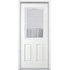 ReliaBilt 36-in x 80-in Half Lite Inswing Steel Entry Door