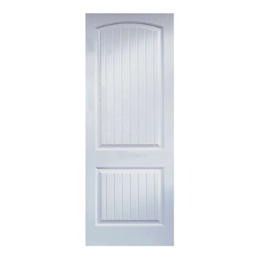Shop reliabilt 18 w 2 panel hollow molded composite interior door slab at - Hollow core interior doors lowes ...