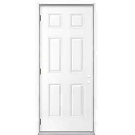 ReliaBilt 32-in Outswing Entry Door