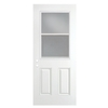 ReliaBilt 36-in Half Lite Clear Outswing Entry Door