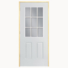 ReliaBilt 37.3-in Clear Outswing Entry Door