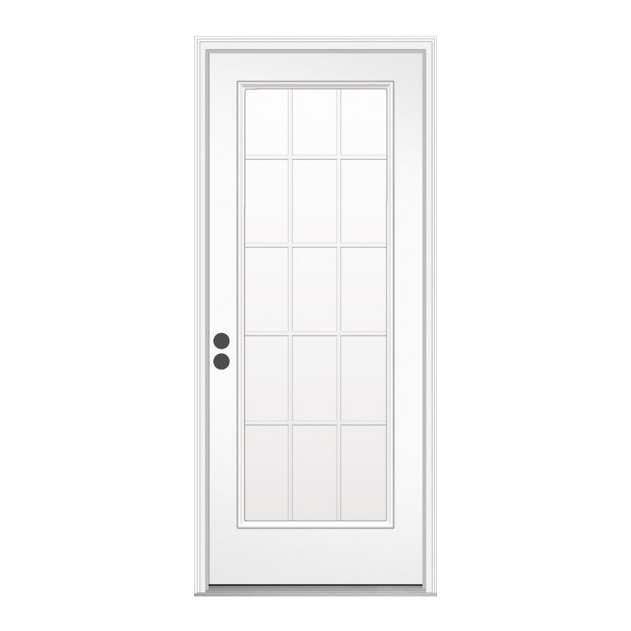 Steel doorse prehung steel entry doors for Prehung exterior door