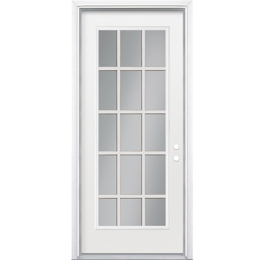 Steel doorse steel entry doors 32 x 80 for 36 inch exterior french doors