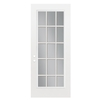 ReliaBilt 36-in Full Lite Clear Outswing Entry Door