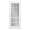 ReliaBilt 32-in Full Lite Clear Outswing Entry Door
