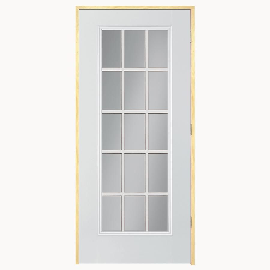 French doors exterior french doors exterior outswing lowes for Exterior double doors lowes