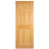 ReliaBilt 36-in x 80-in 6-Panel Pine Solid Core Non-Bored Interior Slab Door