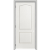 ReliaBilt 18-in x 80-in 2-Panel Arch Top Hollow Molded Composite Right-Hand Interior Single Prehung Door
