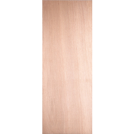Shop reliabilt 24 in x 80 in flush lauan solid wood core for Flush solid core wood interior doors