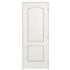 ReliaBilt 18-in x 80-in 2-Panel Arch Top Hollow Molded Composite Left-Hand Interior Single Prehung Door